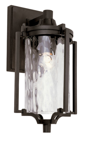 "40131 BK Coastal Sea 14"" Wall Lantern"