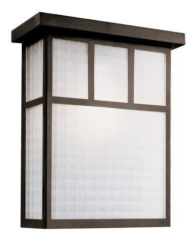 "40141 BK Garden Box 12"" Patio Light"