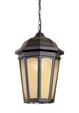 "40153 BK Tea Chateau 14"" Outdoor Pendant"