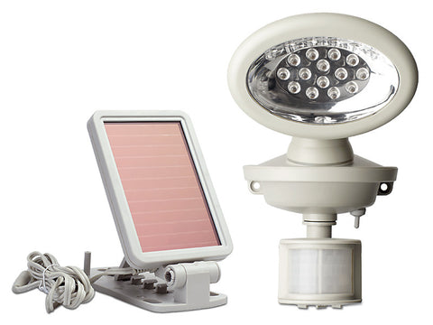 40217 Motion-Activated Solar Powered 14 LED Security Spotlight