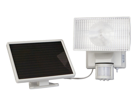 40225 Motion-Activated Solar Powered 80 LED Security Floodlight