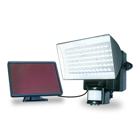 40226 Motion-Activated Solar Powered 80 LED Security Floodlight