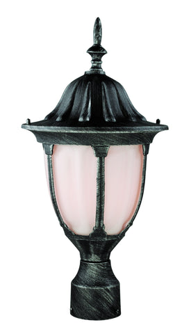"4042 SWI Avignon 19"" high Post Top Light in Iron"