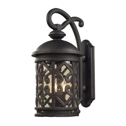 42061/2 Tuscany 2 Light Outdoor Wall Sconce