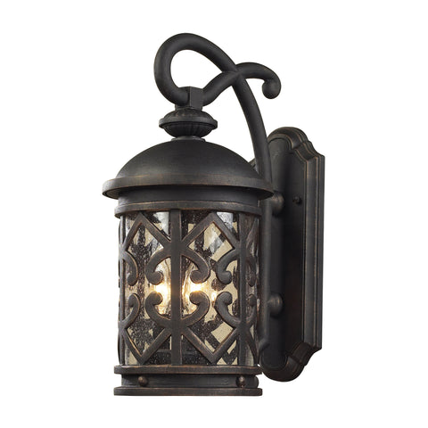 42062/3 Tuscany 3 Light Outdoor Wall Sconce