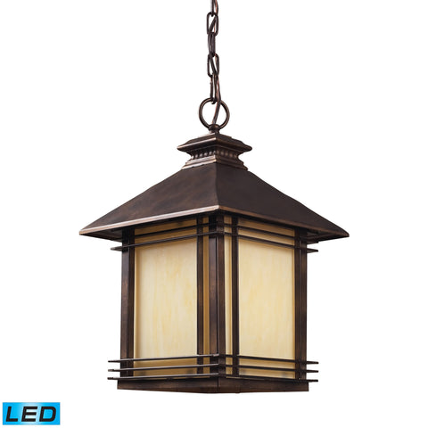 42103/1-LED Blackwell Series Outdoor Pendant