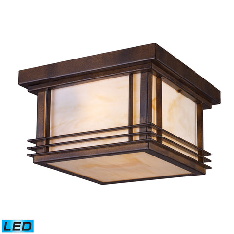 42106/2-LED Blackwell Outdoor Ceiling Light