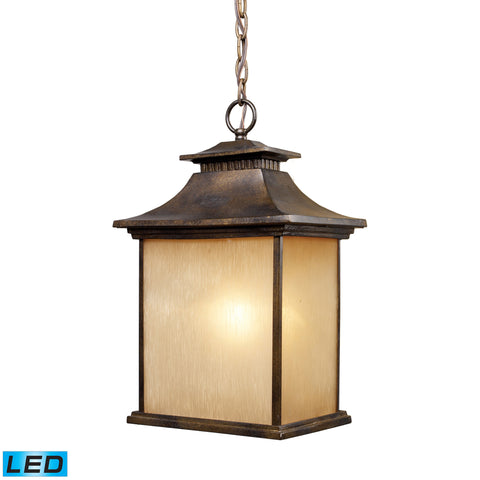 42183/1-LED San Gabriel Outdoor Pendant