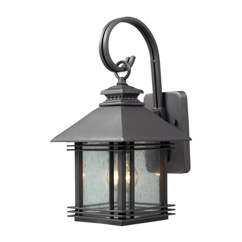 42300/1 Blackwell Series Wall Light Graphite