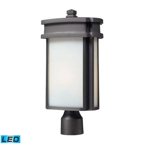 42345/1-LED Sedona Collection Post Mount