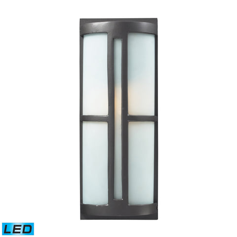 42395/1-LED Trevot 1 Light Outdoor Wall Sconce