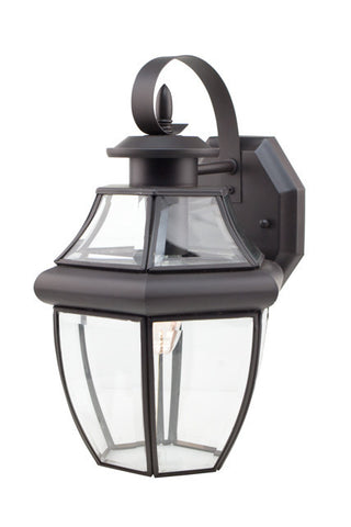 "4310 WB Glass House 13"" Outdoor Wall Light"