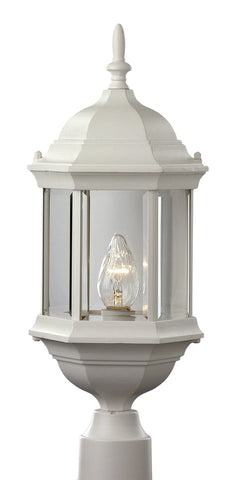 "4352 WH Alicante 23"" Outdoor Post Top Light"