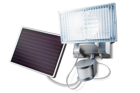 44449 Solar Powered Motion-Activated 100 LED Security Floodlight