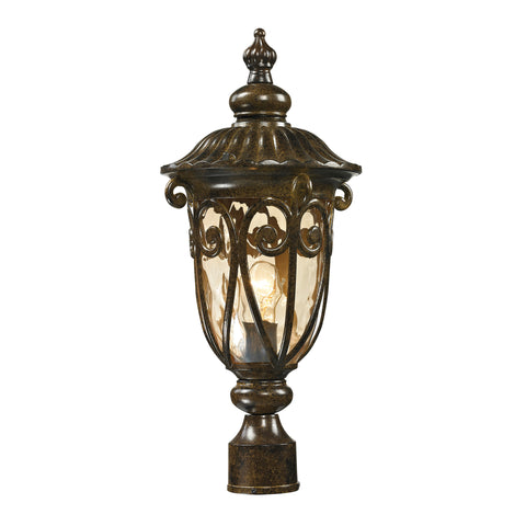 45073/1 Logansport Collection 1 Light Outdoor Post Light