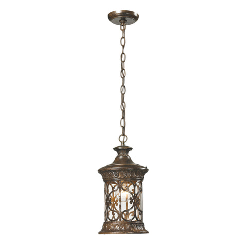 45083/1 Orlean Collection 1 Light Outdoor Pendant