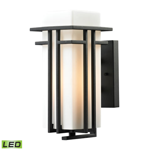45085/1-LED Croftwell Collection 1 Light Outdoor Sconce