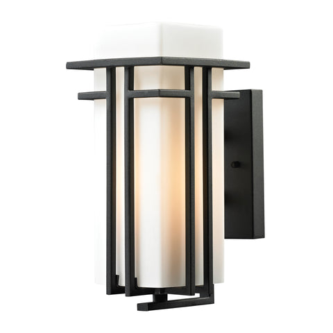 45085/1 Croftwell Collection 1 Light Outdoor Sconce