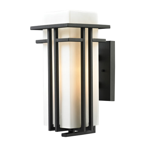 45086/1 Croftwell Collection 1 Light Outdoor Sconce