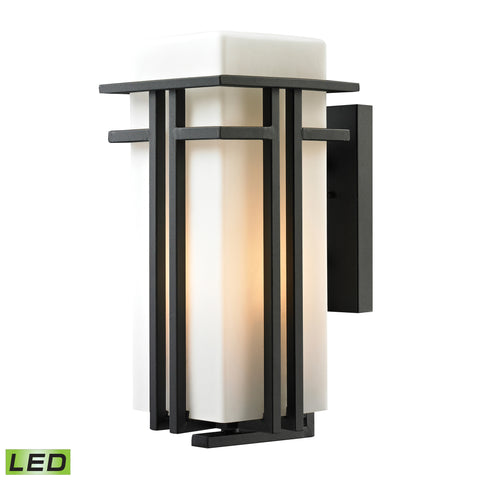 45087/1-LED Croftwell Collection 1 LED Light Outdoor Sconce