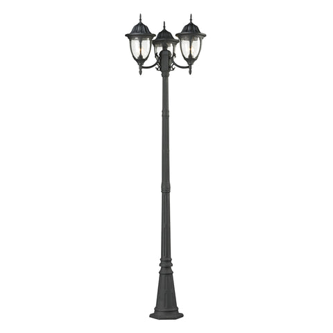 45089/3 Central Square 3 Light Outdoor Post Light