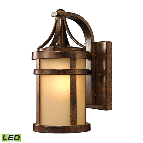 45095/1-LED Winona Collection 1 LED Light Outdoor Sconce