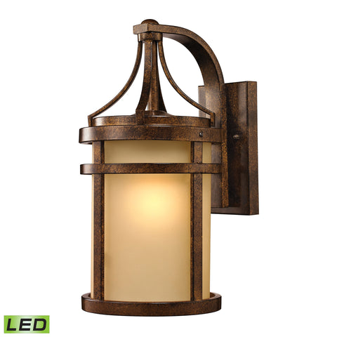 45097/1-LED Winona Collection 1 Light Outdoor Sconce