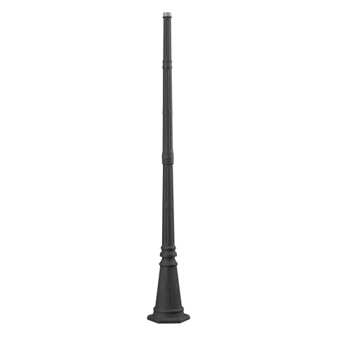 45100CHRC  Collection Outdoor Post Charcoal
