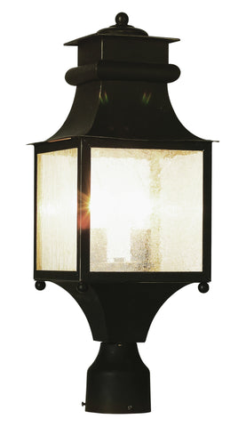 "45634 WB Garden Chimney 21"" Post Top Lantern"