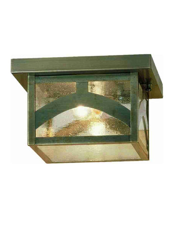 "10""Sq Hyde Park Hill Top Flushmount 45865"
