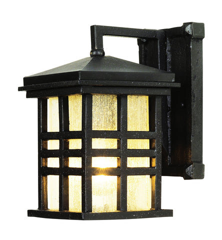 4635 BK Rustic Craftsman Coach Light Black