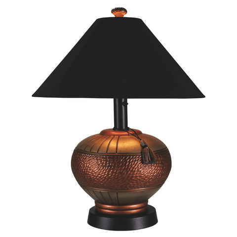 Patio Living Concepts 46917 Phoenix Copper Outdoor Table Lamp