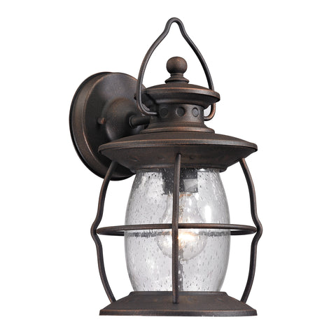47040/1 Village Lantern Collection 1 Light Outdoor Sconce