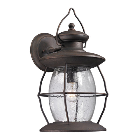 47044/1 Village Lantern Collection 1 Light Outdoor Sconce