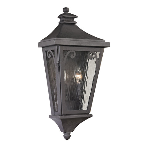 47080/2 Forged Camden Collection 2 Light Outdoor Sconce