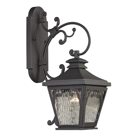 47081/1 Forged Camden Collection 1 Light Outdoor Sconce
