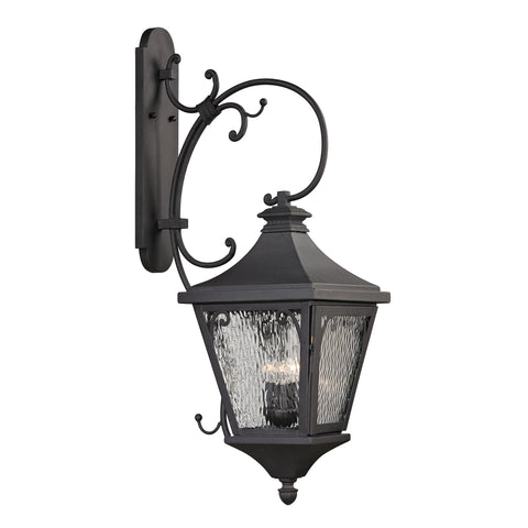 47083/3 Forged Camden Collection 3 Light Outdoor Sconce