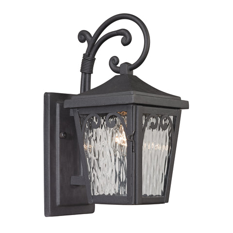 47093/1 Forged Manor Collection 1 Light Outdoor Sconce