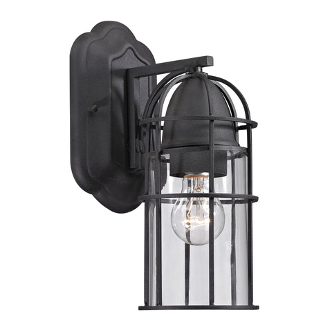 47095/1 Rowland Collection 1 light outdoor sconce Charcoal