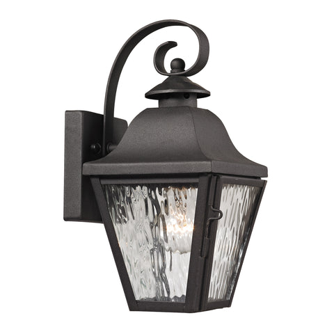 47100/1 Forged Brookridge Collection 1 Light Outdoor Sconce