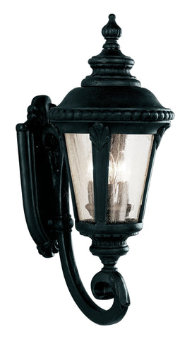 "5041 BK 25"" High Outdoor Coach Lamp In Black"