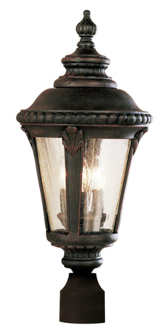 "5047 RT Stonebridge 24"" Post Top Lantern In Rust"