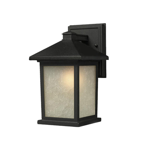 507S-BK Holbrook Outdoor Wall Light Black