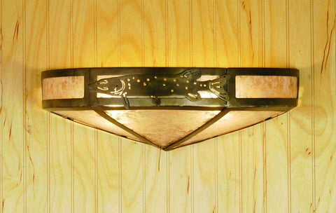 "16""W Pike Wall Sconce"