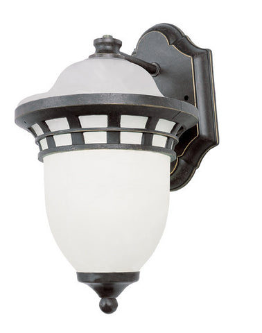 "5110 BZ Bristol 12"" high Wall Light Bronze"