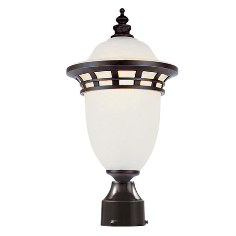 "5112 BZ Bristol 16"" High Post Top Light Bronze"