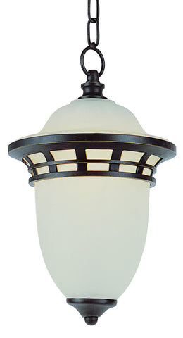 "5113 BZ Bristol 15"" Outdoor Hanging Light Bronze"