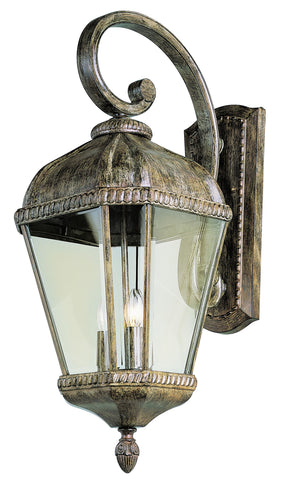 "5151 BRT Burnished Rust 27"" Wall Lantern"