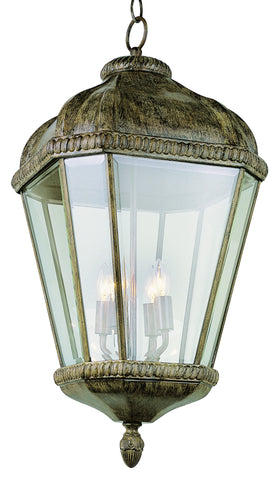 "5156 BRT Burnished Rust 26"" Hanging Lantern"