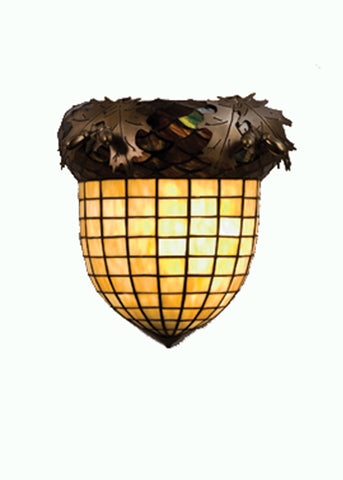 "12""W Greenbriar Oak Wall Sconce"